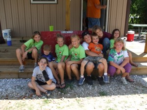 These are members of the West Fork 4H Club (West Fork also has the Farm 4H club and the Woolsey Community 4H).