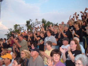 Crowd cheers West Fork to victory over Greeenland during season opener