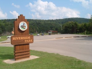 riverside sign